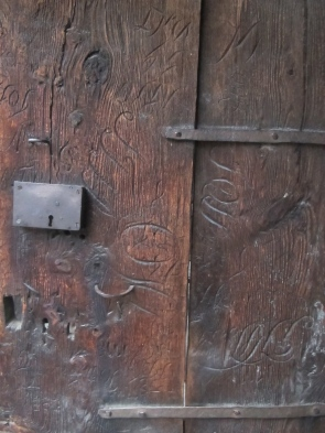 15th century graffiti, perhaps?