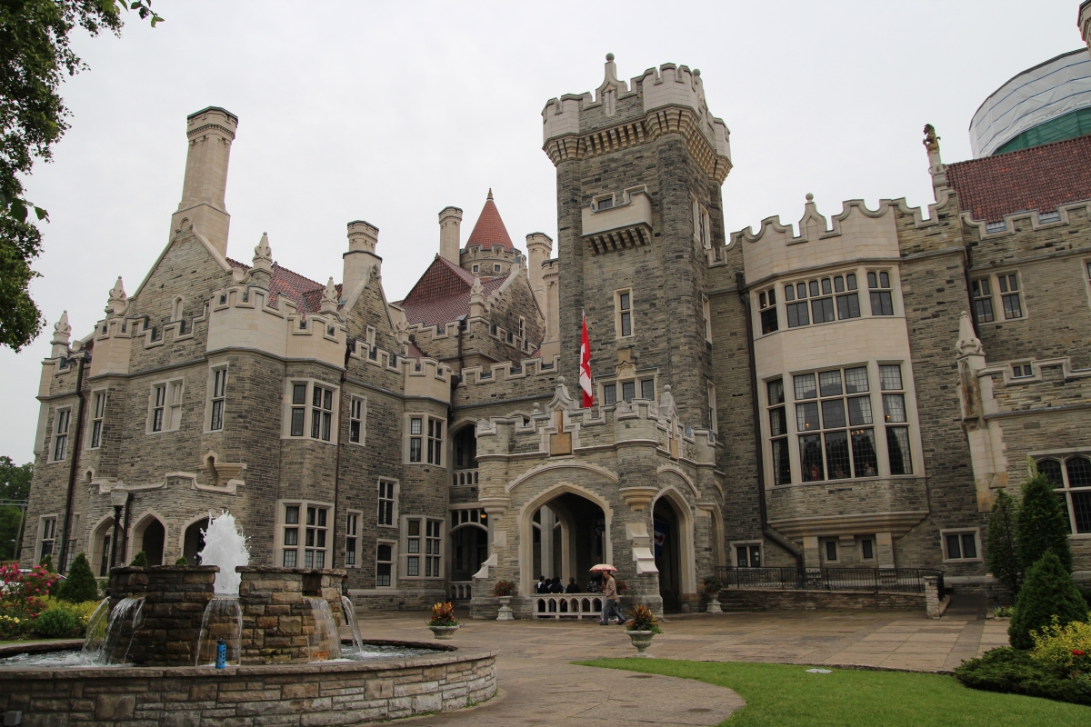 Casa loma toronto canada a north american edwardian for Casa loma mansion toronto