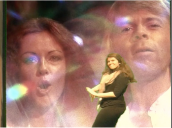 Making my own music video with Anni-Frid and Bjorn.
