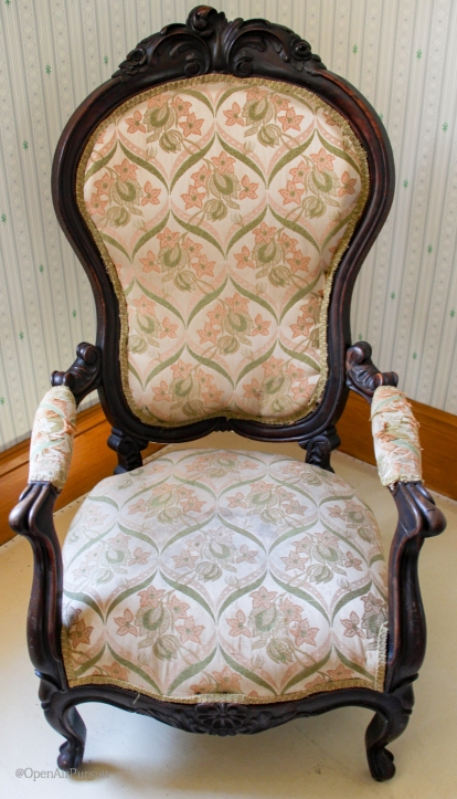 Elizabeth Cady Stanton's armchair