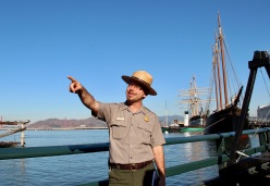 Park Rangers pointing at things!